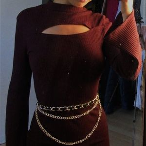 Dresses & Skirts - Burgandy dress